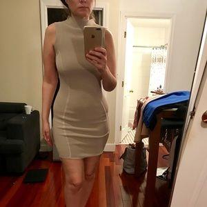 Parker beige /pink dress